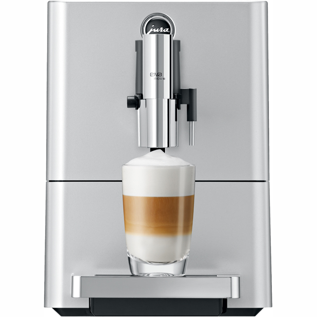 Jura Micro 90 15061 Bean to Cup Coffee Machine - Silver
