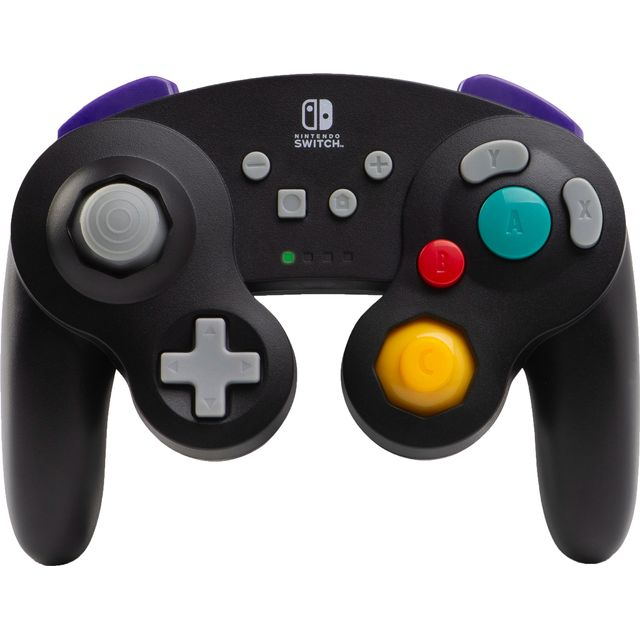 PowerA Wireless - GameCube Style: Grey - Black