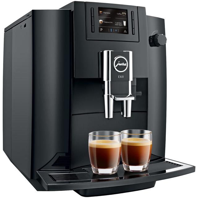 Jura E60 15082 Bean To Cup in Black