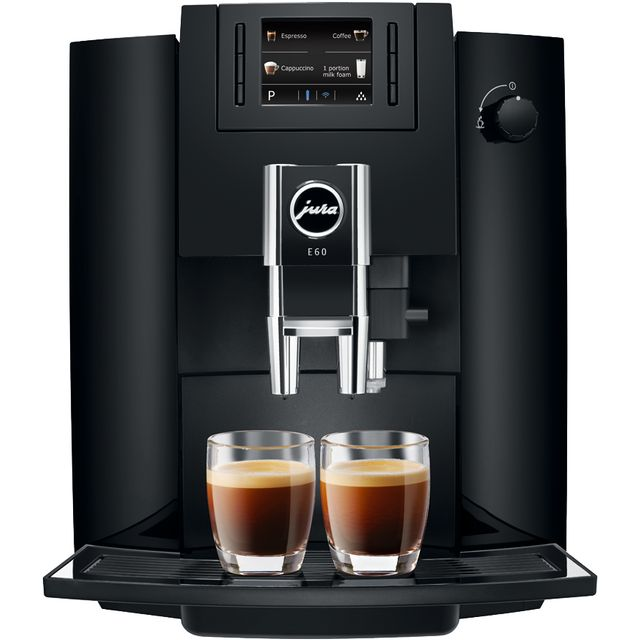 Jura E60 15082 Bean to Cup Coffee Machine - Black