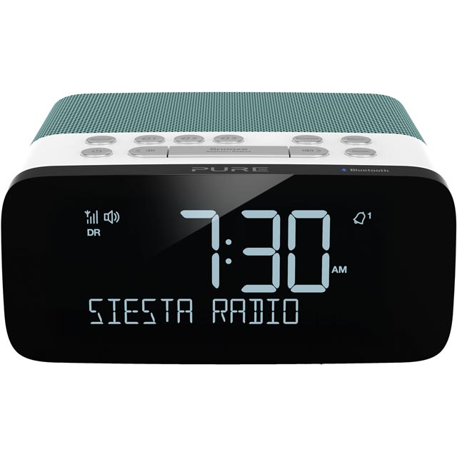 Pure Siesta Rise S DAB / DAB+ Digital Radio with FM Tuner