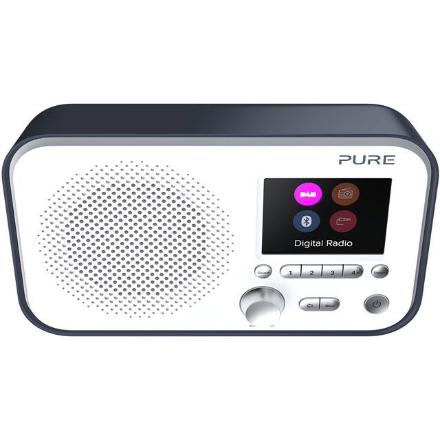 Pure Elan BT3 DAB / DAB+ Digital Radio with FM Tuner - Slate Blue - 151062 - 1
