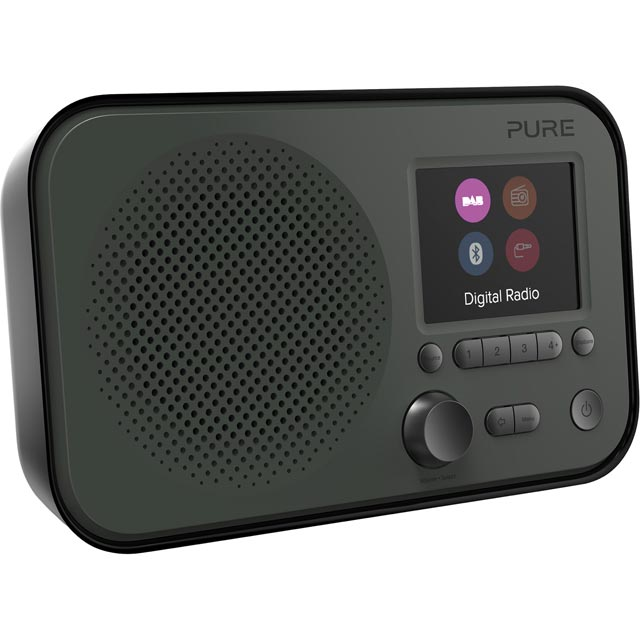 Pure Elan BT3 DAB / DAB+ Digital Radio with FM Tuner - Graphite