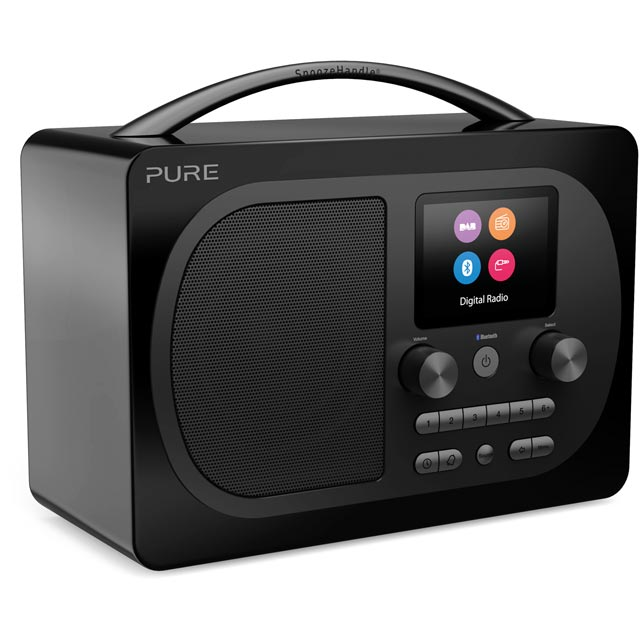 Pure Evoke H4 Prestige Edition 151074 Digital Radio in Black