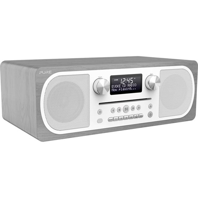 Pure Evoke C-D6 Digital Radio in Grey Oak