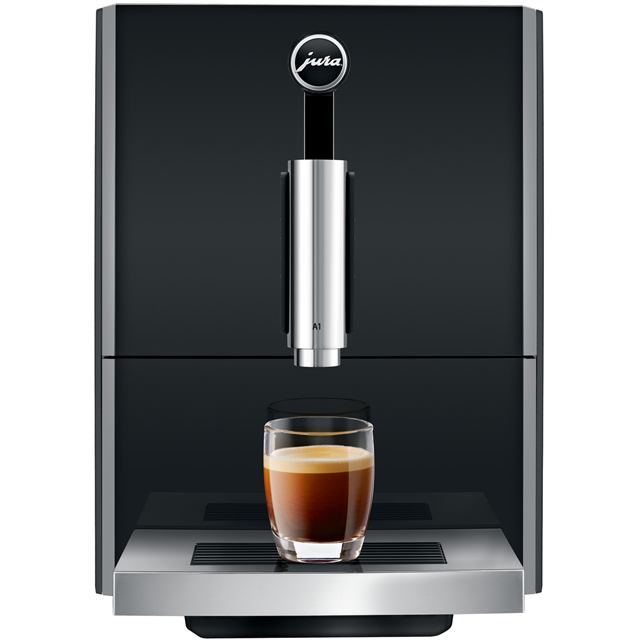 Jura A1 15133 Bean to Cup Coffee Machine - Black - 15133_BK - 1