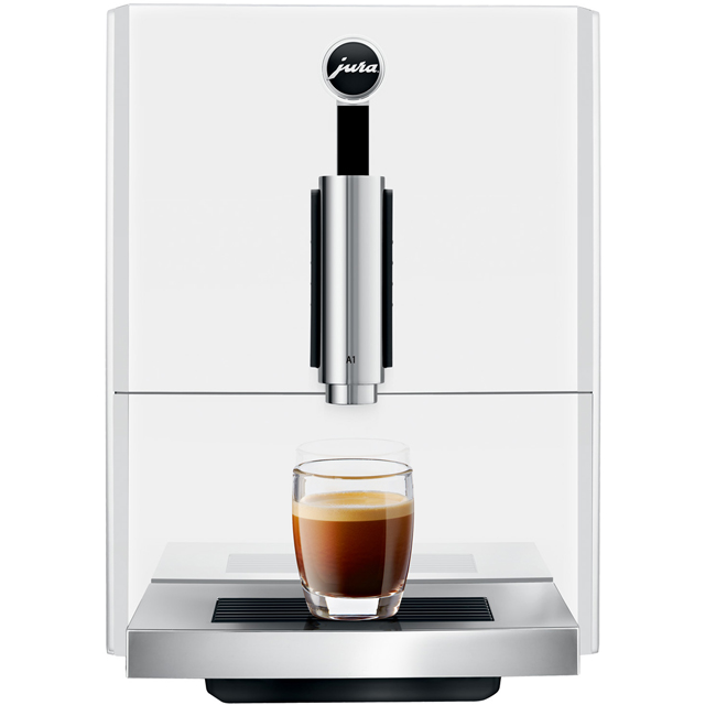 Jura A1 15171 Bean to Cup Coffee Machine - White - 15171_WH - 1