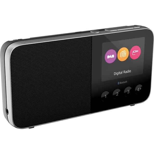 Pure Move T4 DAB / DAB+ Digital Radio with FM Tuner - Black - 152224 - 1