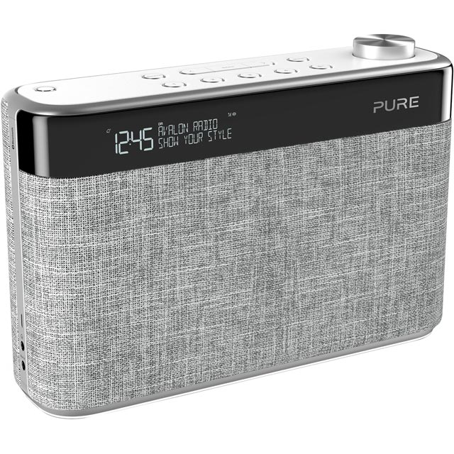 Pure Avalon N5 DAB / DAB+ Digital Radio with FM Tuner - Pearl Grey