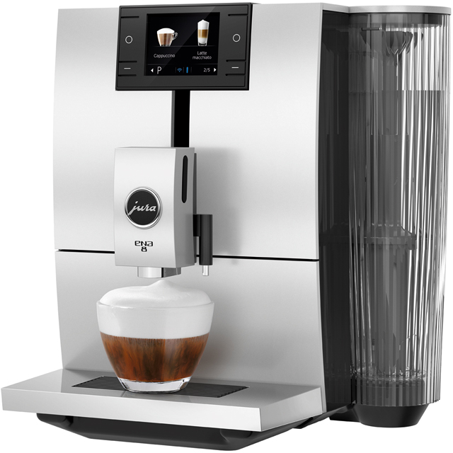 Jura ENA 8 15315 Bean to Cup Coffee Machine - Black - 15315_BK - 1