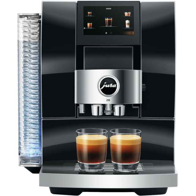 Jura Z10 15423 Wifi Connected Bean to Cup Coffee Machine - Black