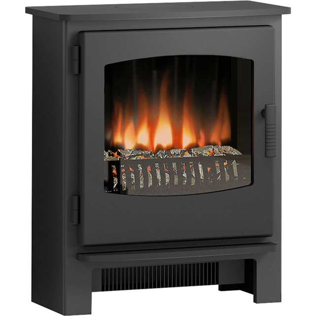 BeModern Espire Coal Bed Electric Stove With Remote Control - Matt Black