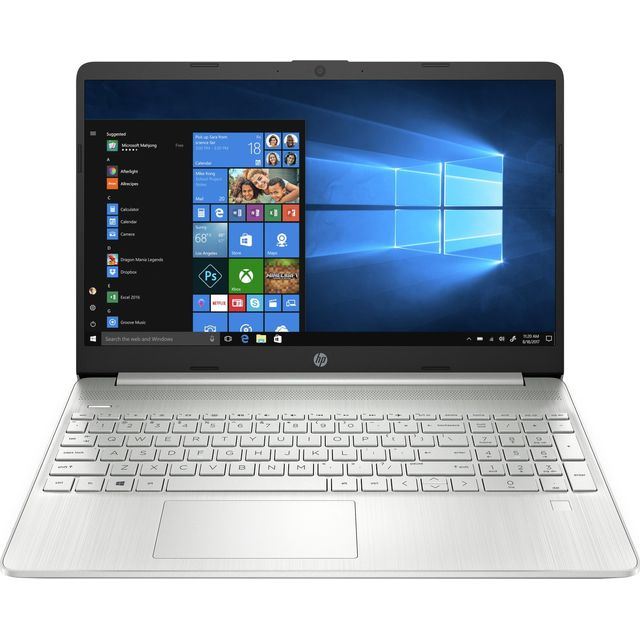 "HP 15s-fq2015na 15.6"" Laptop - Silver"