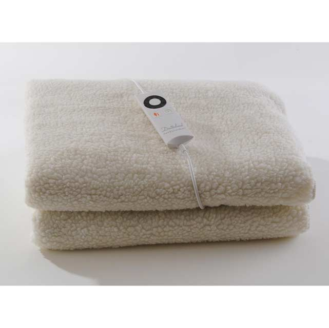 Dreamland Fleecy 16212 Under Blanket For Double Bed - 16212_WH - 1