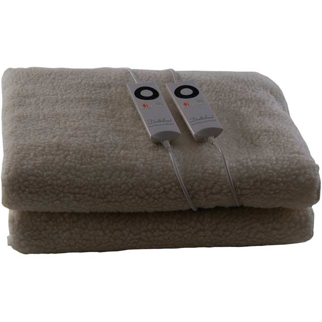 Dreamland Soft Fleece Dual Control 16214 Under Blanket For King Size Bed - 16214_WH - 1