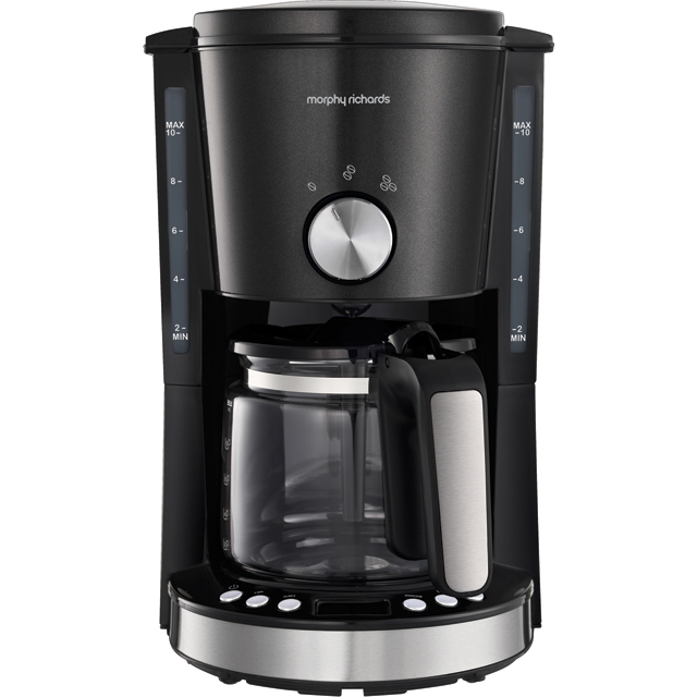 Morphy Richards Evoke 162520 Filter Coffee Machine - Black - 162520_BK - 1