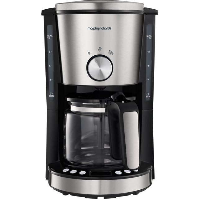 Morphy Richards Evoke 162521 Filter Coffee Machine - Brushed Stainless Steel - 162521_BSS - 1