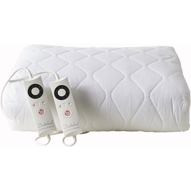 Dreamland Sleepwell Luxury Super King Dual Control Heated Duvet in White