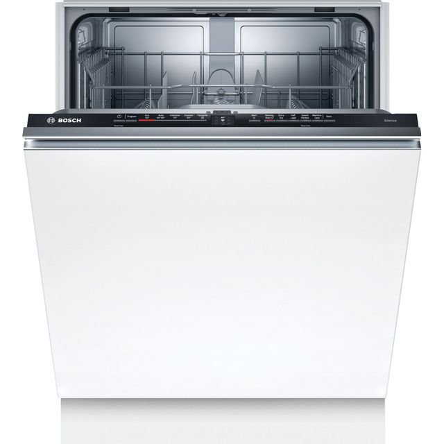 Bosch Serie 2 SMV2ITX22G Wifi Connected Fully Integrated Standard Dishwasher - Black Control Panel - E Rated
