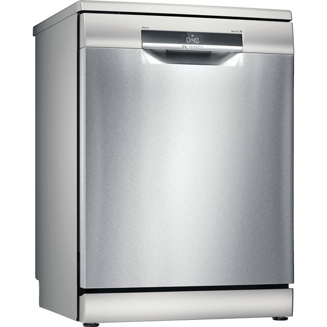 Bosch Serie 6 SMS6EDI02G Wifi Connected Standard Dishwasher - Stainless Steel - C Rated