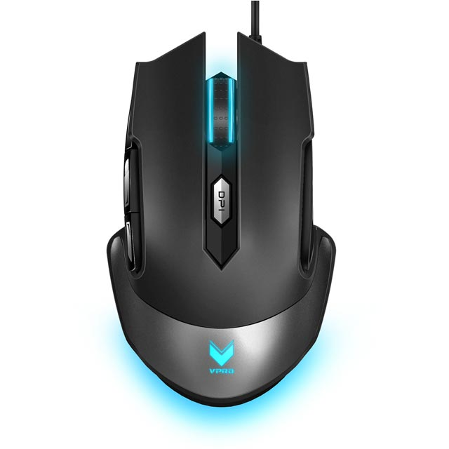 VPRO V310 Wired USB Laser Gaming Mouse - Black