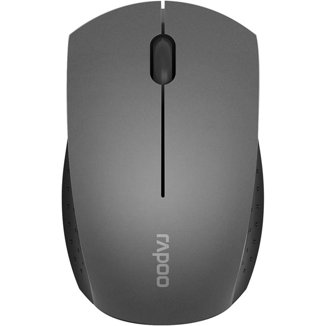 Rapoo 3360 Mini Wireless USB Optical Mouse - Grey - 16974 - 1