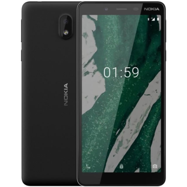 Nokia 1 Plus 8GB Smartphone in Black - 16ANTB01A02 - 1