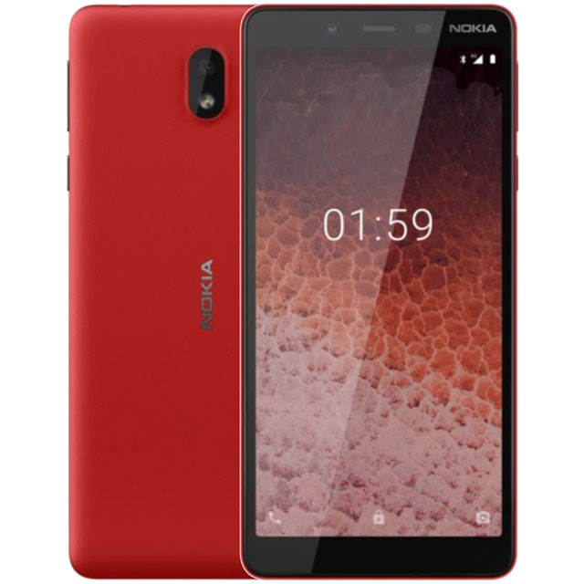 Nokia 1 Plus 8GB Smartphone in Red - 16ANTR01A02 - 1
