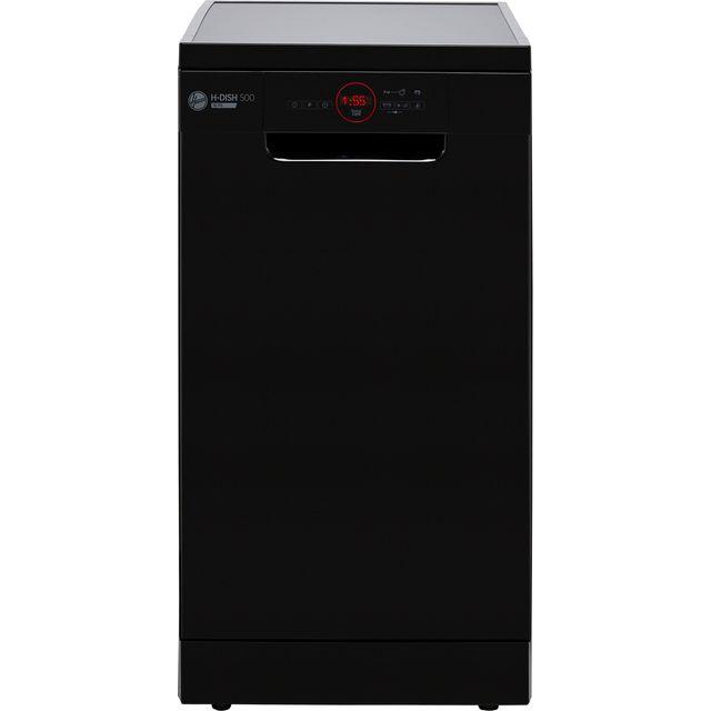 Hoover H-DISH 300 HDPH2D1049B Slimline Dishwasher - Black - E Rated