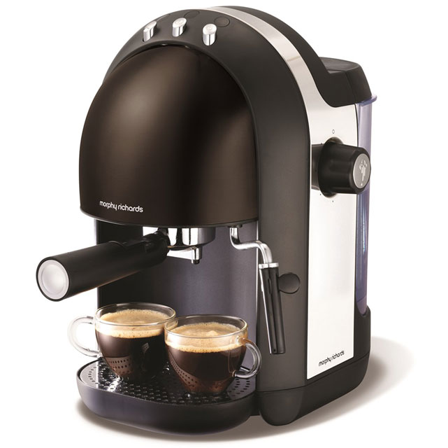 Morphy Richards Accents 172003 Espresso Coffee Machine - Black