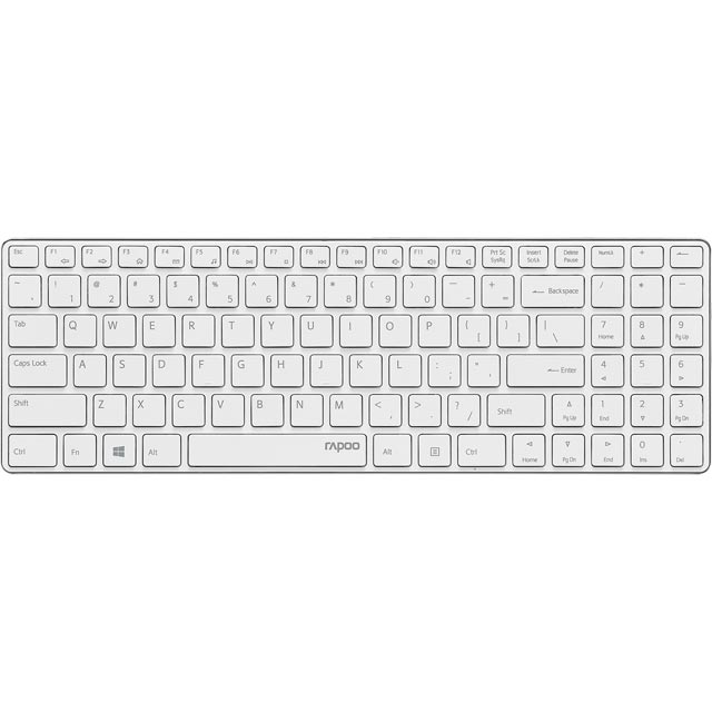 Rapoo E9110 Wireless USB Keyboard - White