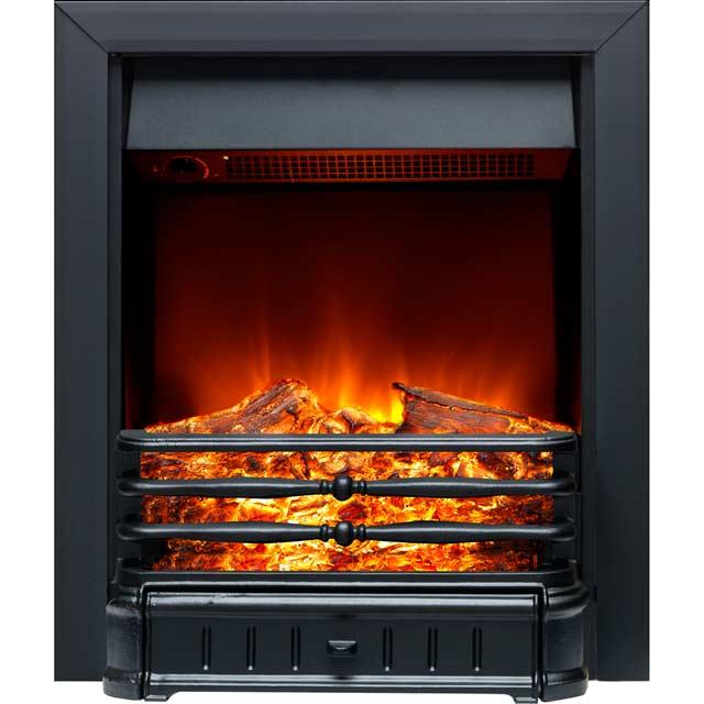 Burley Normanton 174R-BL Inset Fire in Black