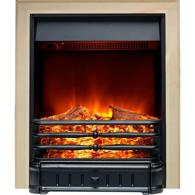 Burley Normanton 174R-BR Inset Fire in Brass / Black