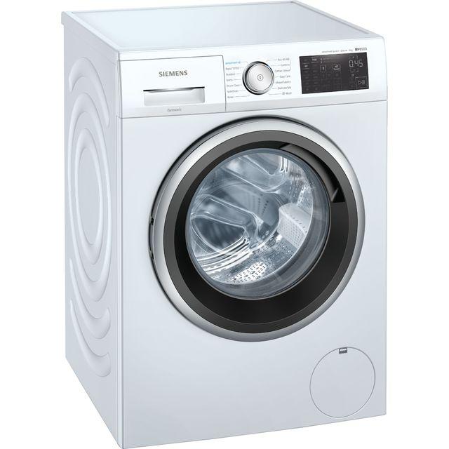 Siemens IQ-500 WM14UQ92GB 9Kg Washing Machine with 1400 rpm - White - C Rated
