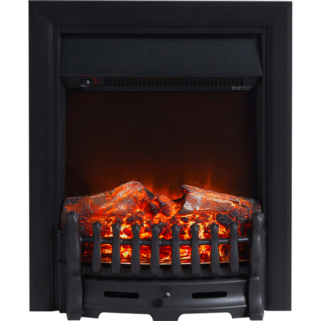 Burley Wansford 177R Log Effect Inset Fire - Black - 177R_BL - 1