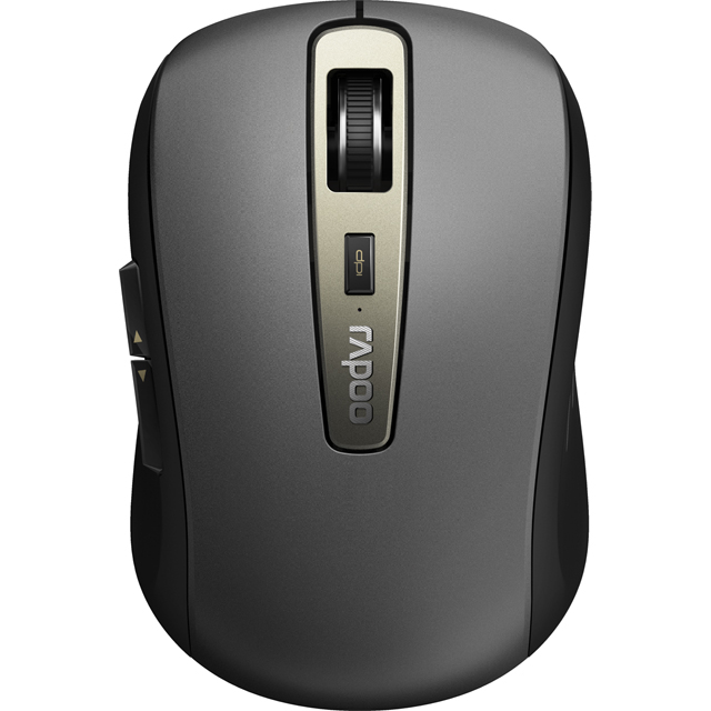 Rapoo MT350 Multi-mode Bluetooth / Wireless USB Optical Mouse - Black