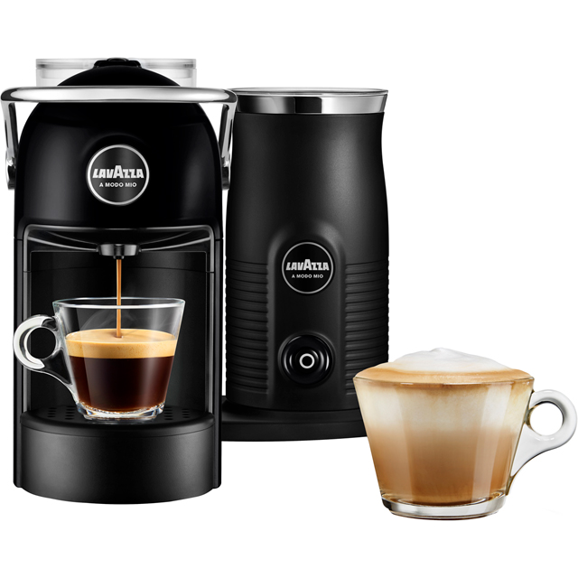 Lavazza Jolie & Milk 18000216 Pod Coffee Machine - Black - 18000216_BK - 1