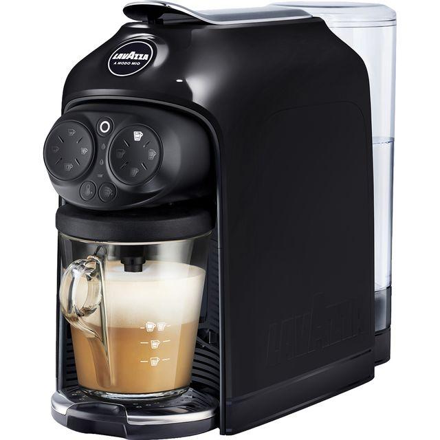 Image of Lavazza Desea 18000390 Pod Coffee Machine - Black