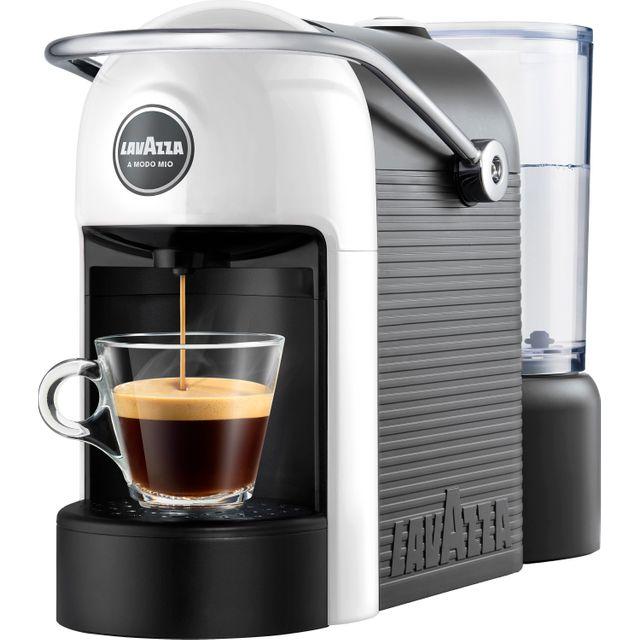 Image of Lavazza Jolie 18000414 Pod Coffee Machine - White