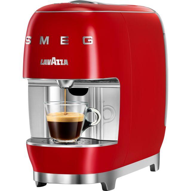 Lavazza A Modo Mio SMEG 18000456 Pod Coffee Machine - Red