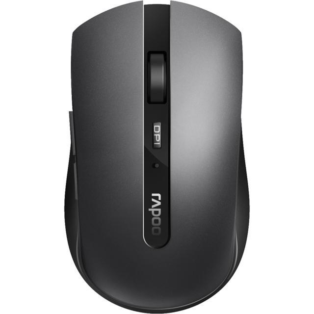 Rapoo 7200M Bluetooth Optical Mouse - Dark Grey