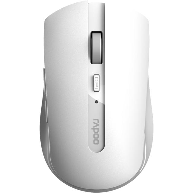Rapoo 7200M Bluetooth Optical Mouse - White
