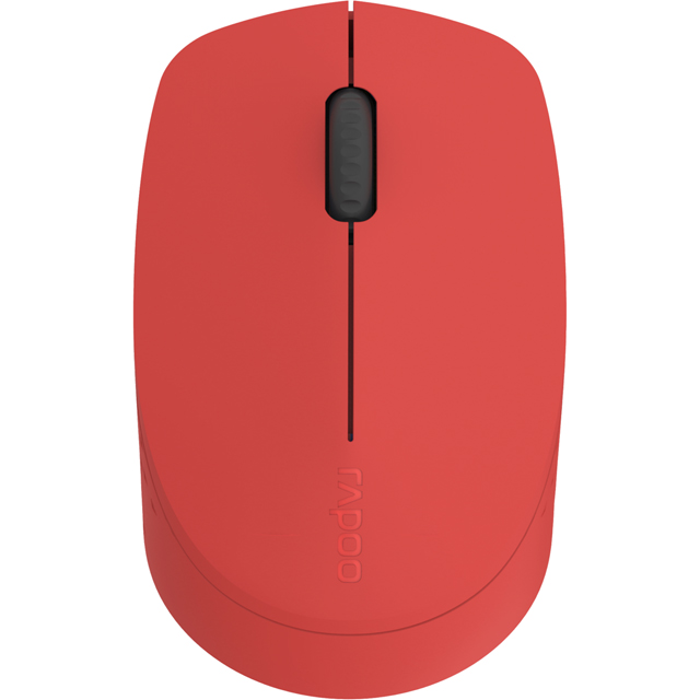 Rapoo M100 Bluetooth Optical Mouse - Red