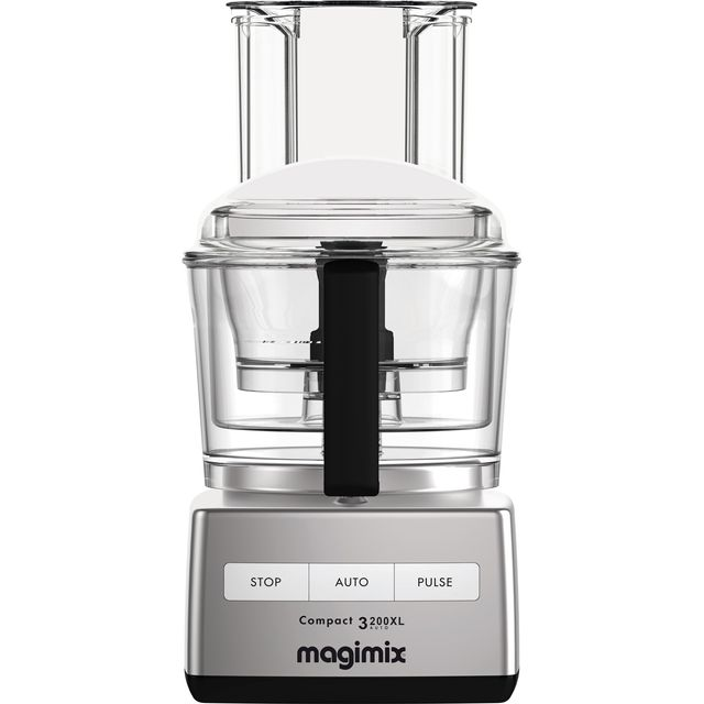 Magimix 3200XL 18361 2.6 Litre Food Processor With 12 Accessories - Satin Steel - 18361_SST - 1