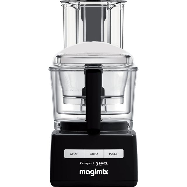 Magimix 3200XL 18363 2.6 Litre Food Processor With 12 Accessories - Black - 18363_BK - 1