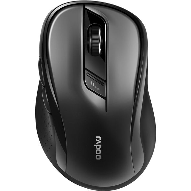 Rapoo M500 Bluetooth Optical Mouse - Black