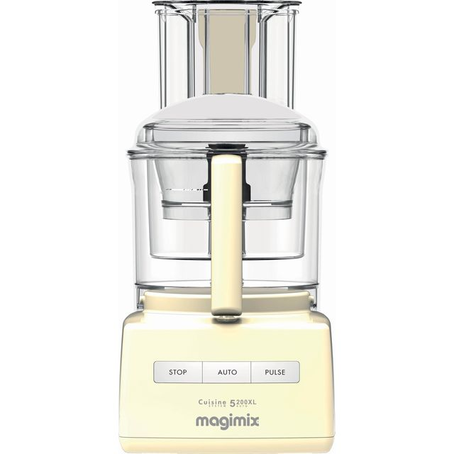 Magimix 5200XL 18583 3.6 Litre Food Processor With 12 Accessories - Cream