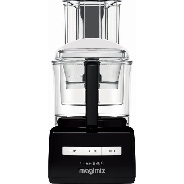 Magimix 5200XL 18584 3.6 Litre Food Processor With 12 Accessories - Black