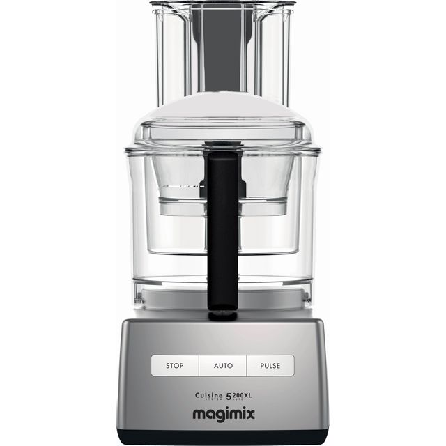 Magimix 5200XL 18591 3.6 Litre Food Processor With 12 Accessories - Satin Steel - 18591_SST - 1