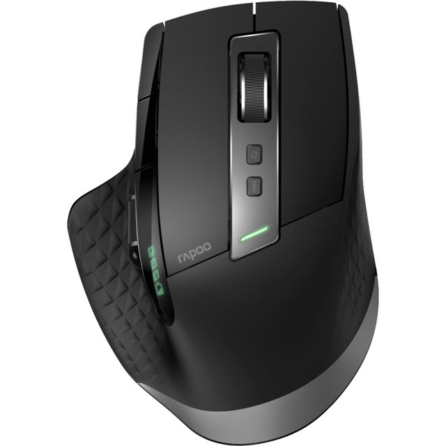 Rapoo MT750S Multi-mode Bluetooth / Wireless USB Optical Mouse - Black